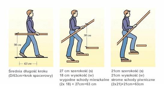 krok Teoria schodów