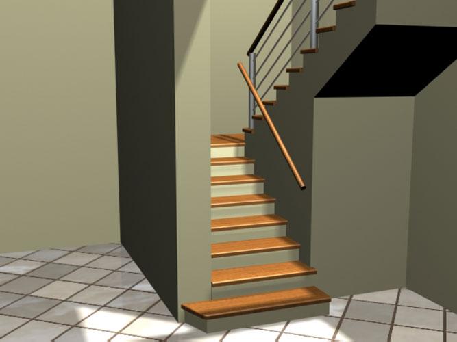 schody p 003 Schody   projekty