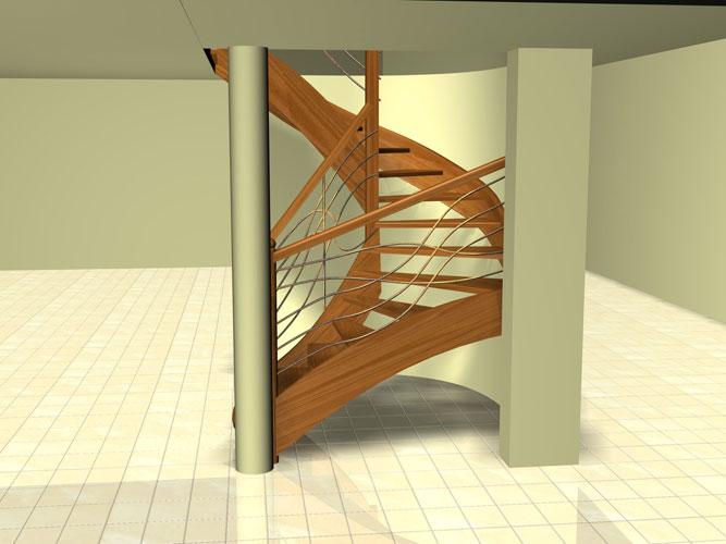schody p 004 Schody   projekty