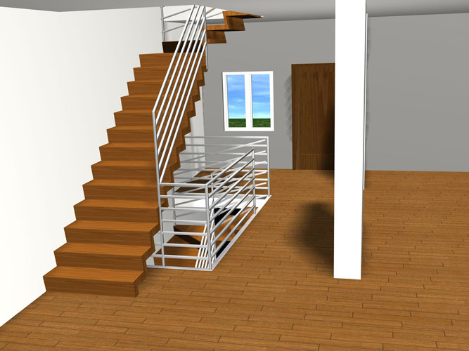 schody p 045 Schody   projekty